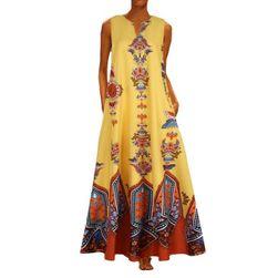 Dámské maxi šaty Resora