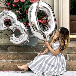 Nafukovací balónky čísla maxi stříbrné - 4 SR_DS21177273