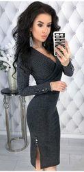 Ženska haljina sa dugačkim rukavima Usinna