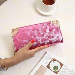 Damski elegancki portfel z ozdobnymi rogami - 5 kolorów