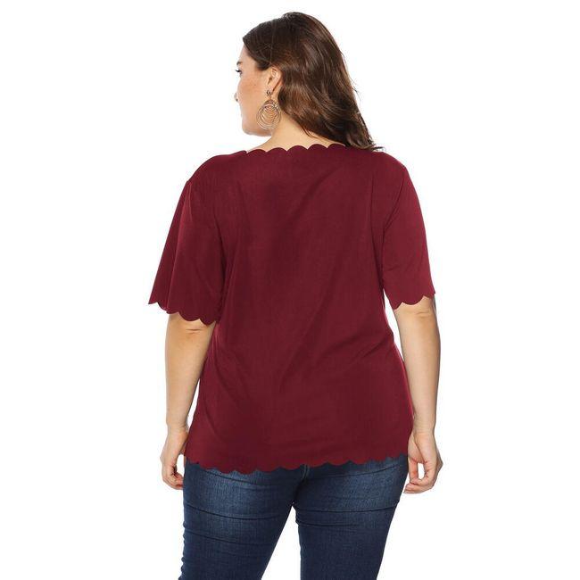 Női plusz méretű póló TF8053