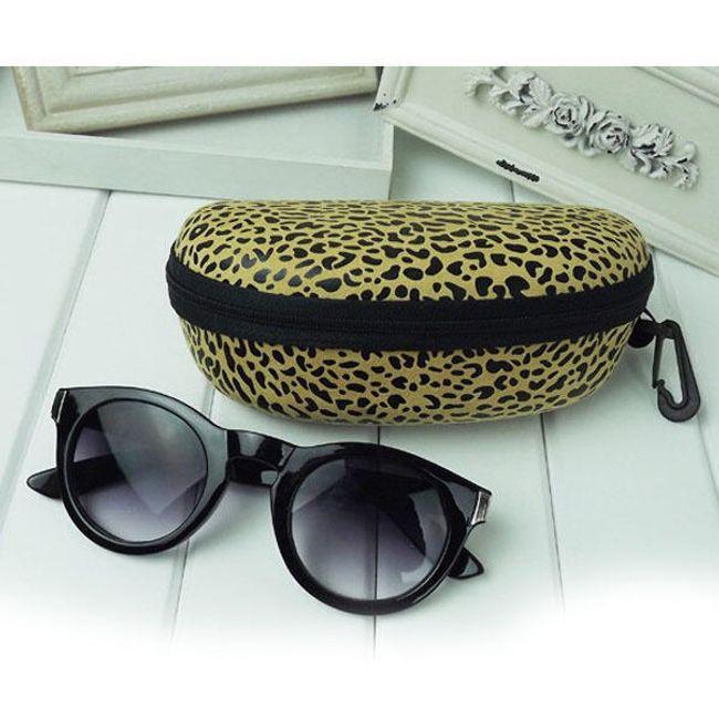 Pouzdro na sluneční brýle s leopardím vzorem - ve 3 odstínech 1