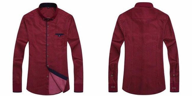 Pánská ležérní košile s kapsičkou - více barev 1
