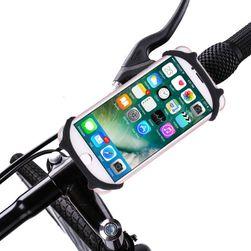 Flexibilní držák mobilu na řídítka - 4 barvy