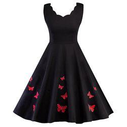 Vintage haljina- 2 boje