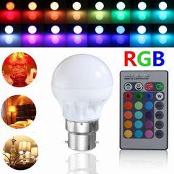 LED žárovky měnící barvy na dálkové ovládání
