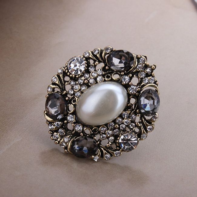 Barokní retro prsten 1