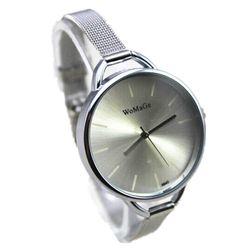 Dámské hodinky v kovovém designu