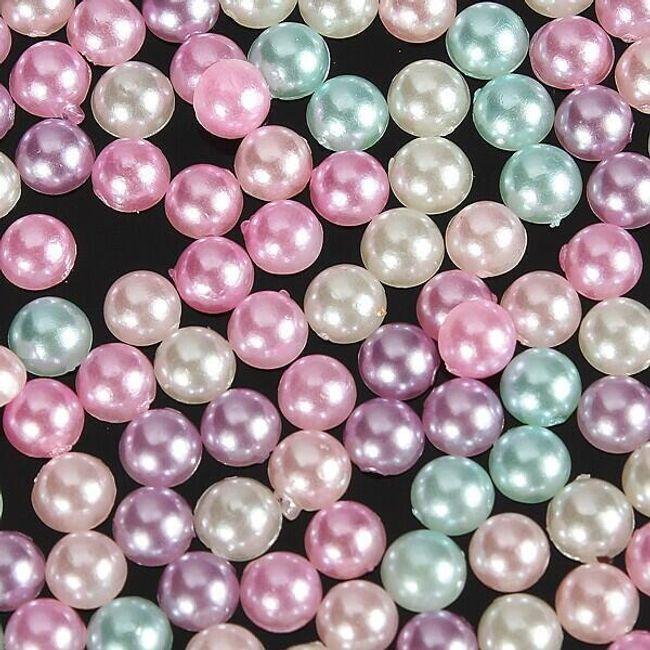 Pasztell színű gyöngyök - scrapbooking 1