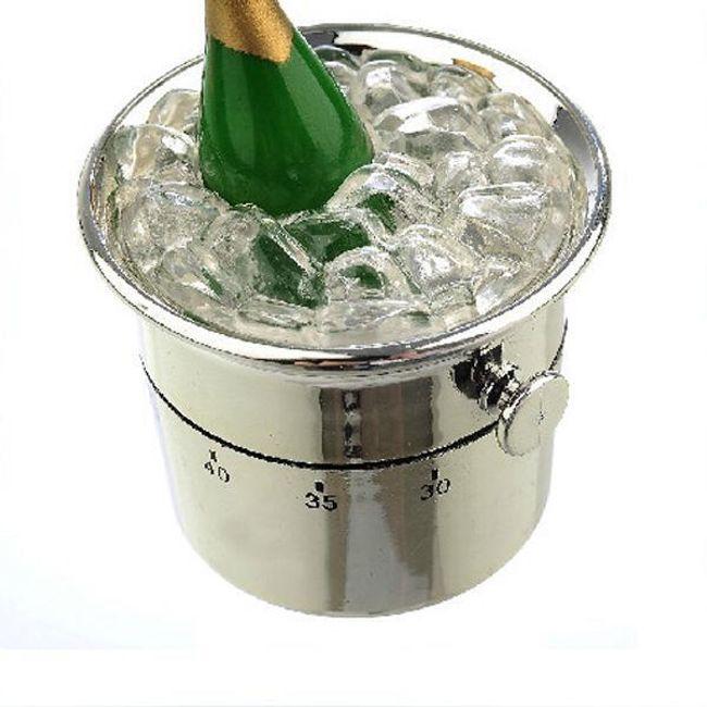 Kuchyňská minutka - chladící kbelík s lahví 1