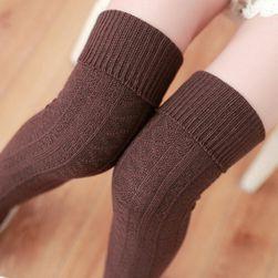 Ženske pletene nadkolenice - razne boje