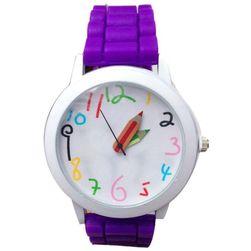 Силиконов дамски часовник - пастелни цветове