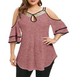 Дамска блуза в плюсови размери Neola