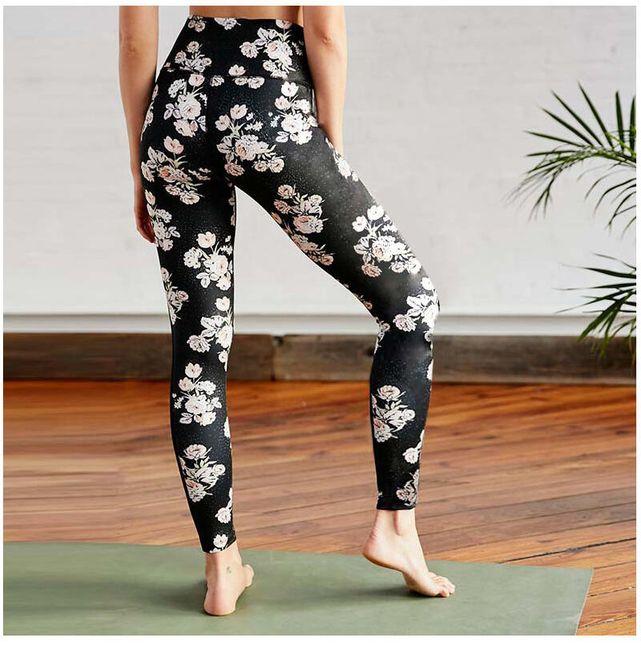 Virágmintás rugalmas nadrág - különféle méretben