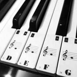 Set samolepljivih nalepnica za klavijaturu