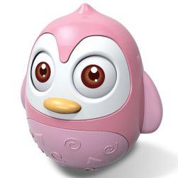 Kývacou hračka tučniak pink RW_40054