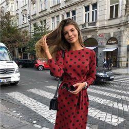 Ženska haljina sa dugačkim rukavima Frescura