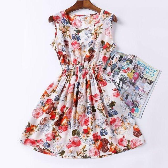 Rozmanité letní šaty - vzor 7, velikost 2 1