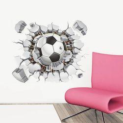 3D nalepnica za ljubitelje fudbala