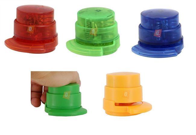Ekozszywacz bez zszywania zszywkami - oferujemy 5 kolorów 1