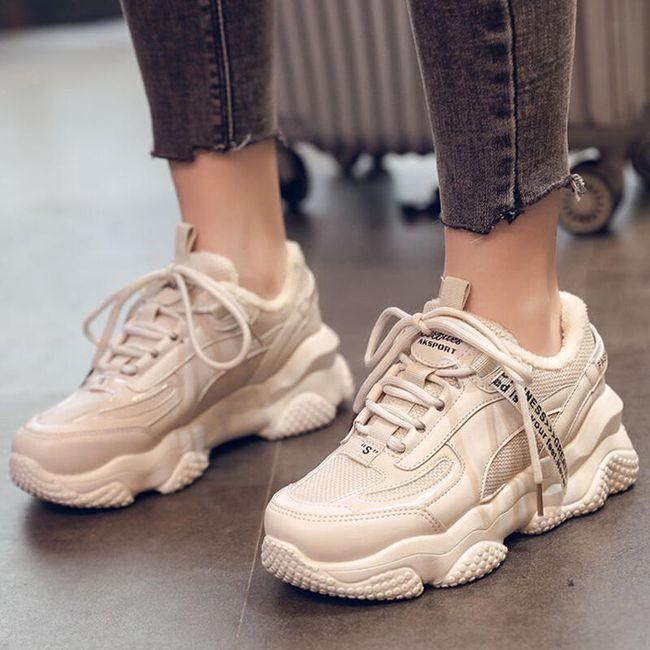 Damskie ocieplane buty Adra 1