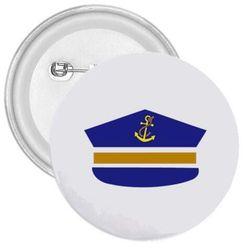 Przypinka Czapka marynarska