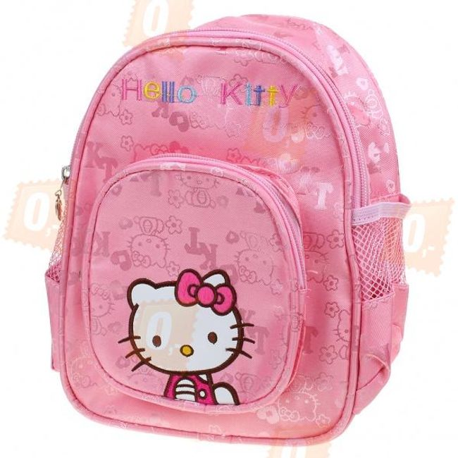 Růžový batoh s motivem Hello Kitty 1