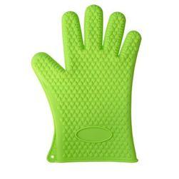 Praktična silikonska kuhinjska rukavica