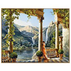 Elegantna slika sa grčkom tematikom