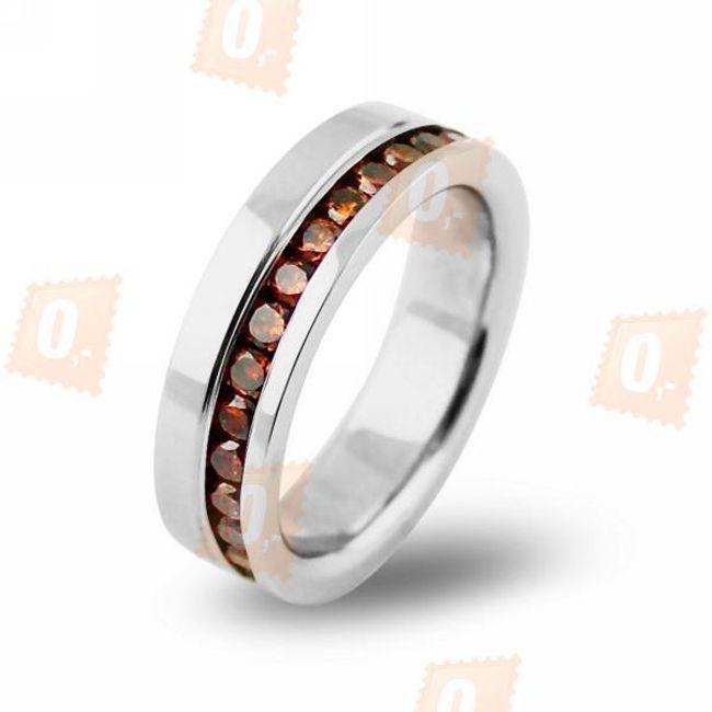 Pánský prsten s drobnými kamínky 1