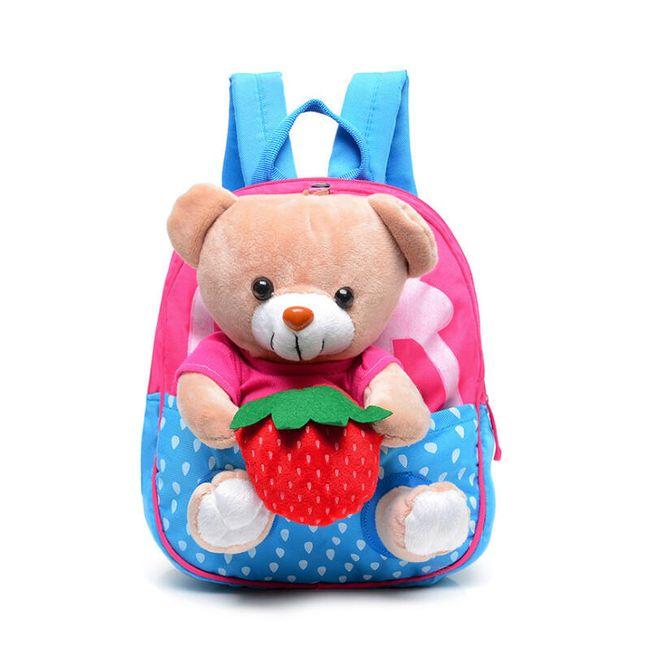 Dětský batůžek s medvídkem - 2 barvy 1