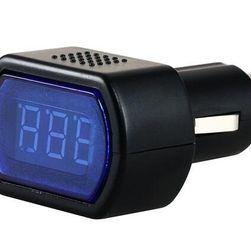 Araç dijital voltmetre