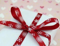 Karácsonyi ajándék szalag