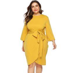 Dámské plus size šaty Lynn