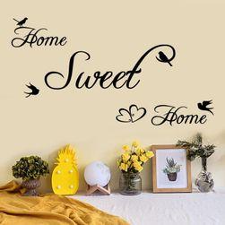 Sticker stilat pentru locuinta - home sweet home