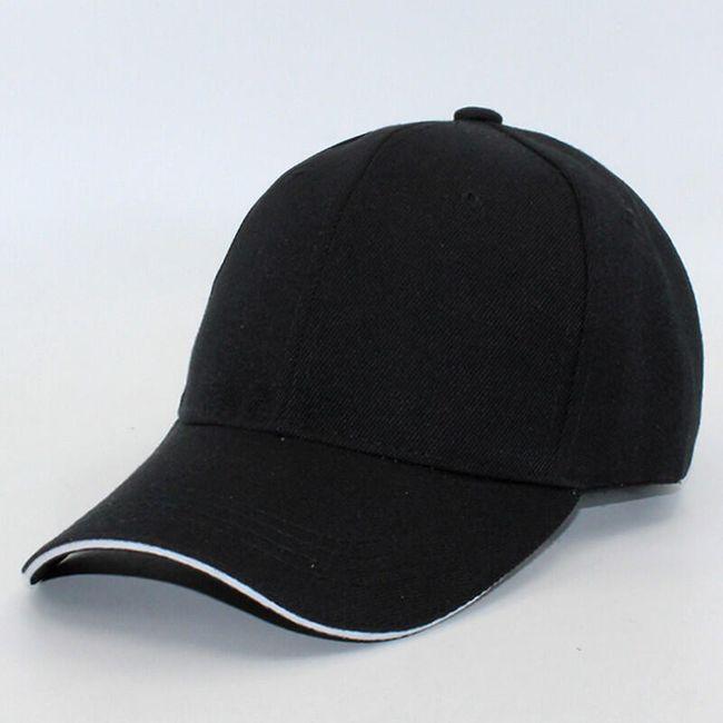 Unisex baseballová čepice v mnoha barvách 1