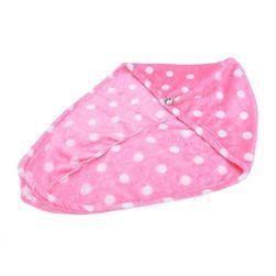 Speciální ručník na vlasy B04778 Světle růžová