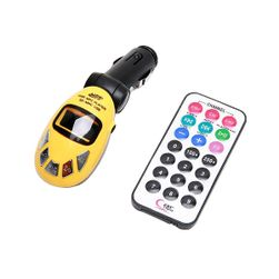 Nadajnik MP3 FM z pilotem na pendrive i kartę SD - do wyboru 5 kolorów