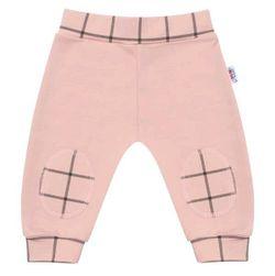 Niemowlęce bawełniane spodnie dresowe ciemne RW_teplacky-Gaja404