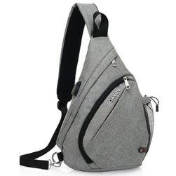 Platneni ruksak preko ramena - 4 boje