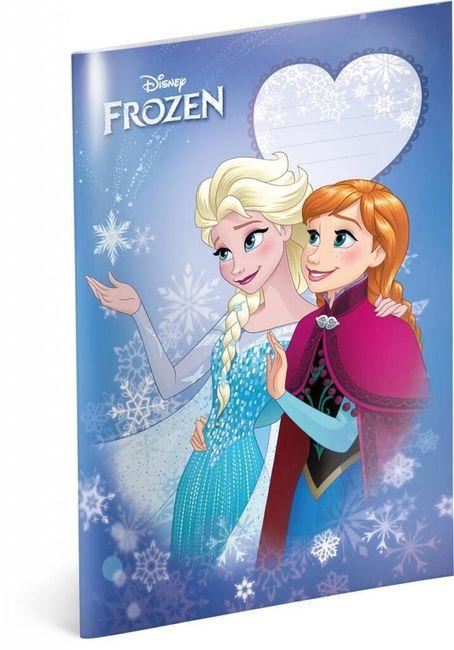Caiet - Regatul de gheață - Anna și Elsa - Nr. 445 - 5 bucăți 1