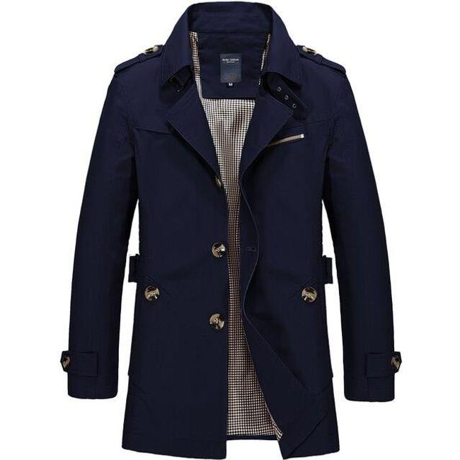 Muški kaput Henry 1