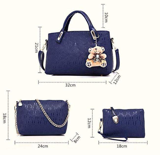 Állítsa be a női kézitáskák  táskák és pénztárcák  különböző színű  egy aranyos medál