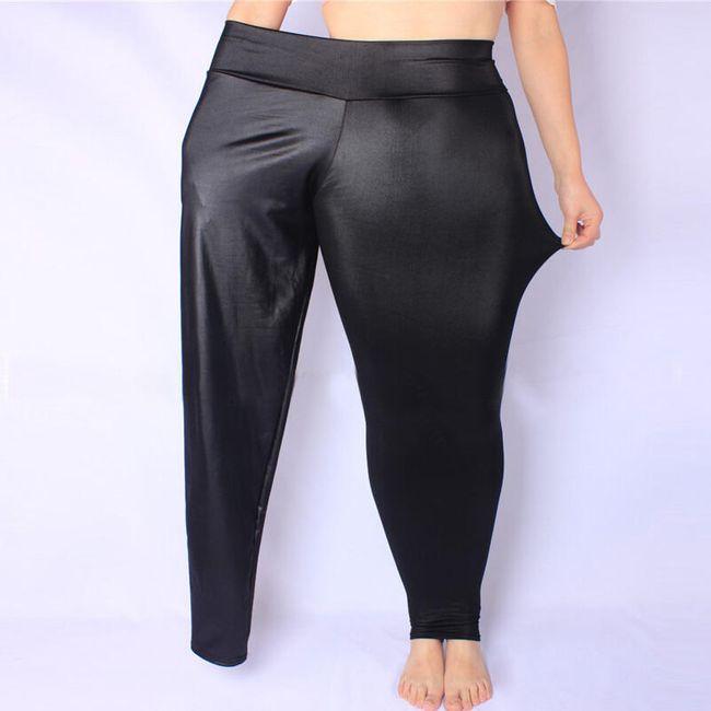 Női elasztikus nadrág  magas derékkal