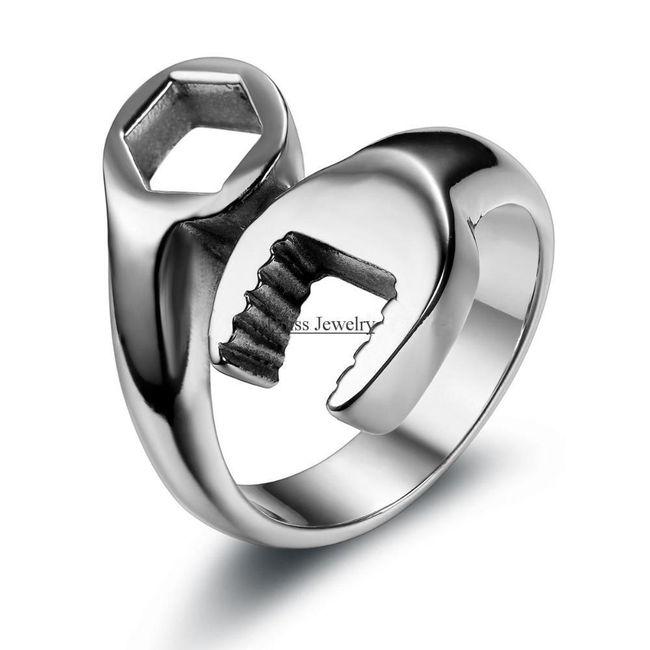 Prsten s detailem nářadí - 3 barvy 1