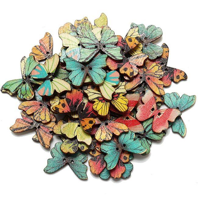 Leptiri za scrapbooking ili šivenje 1