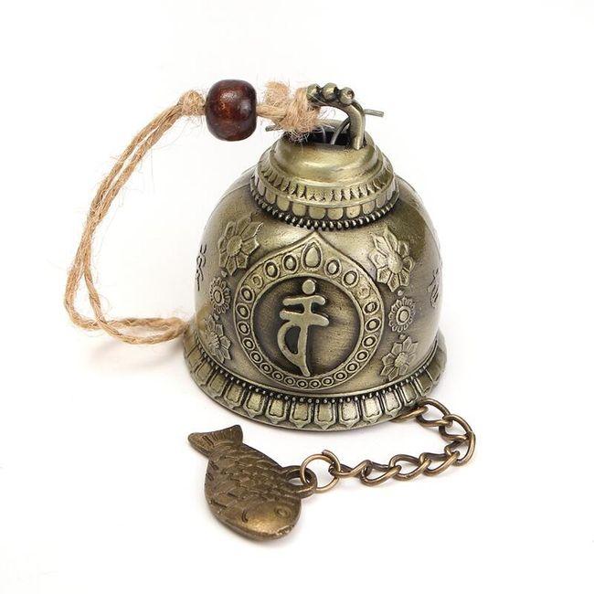Zvonek s Buddhou a kaprem 1