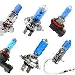 Niebieska żarówka samochodowa - H1/H3/H4/H7/H11/9006