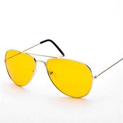 Слънчеви очила с жълто стъкла