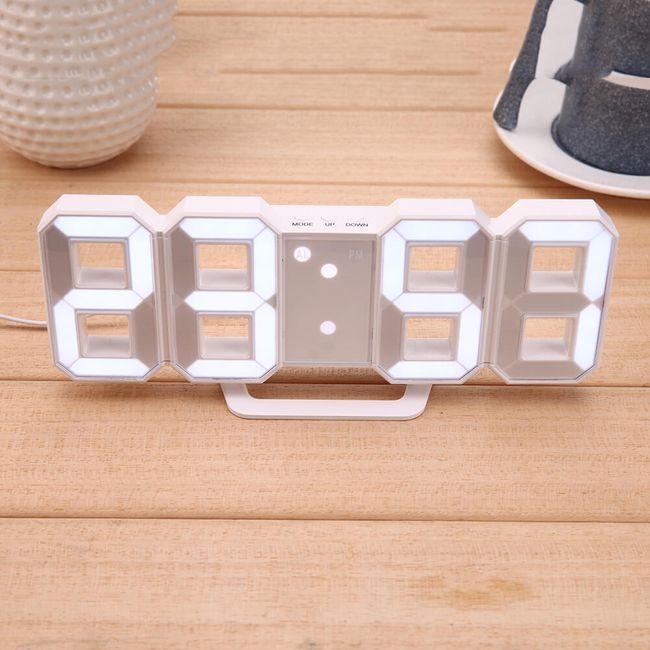 Stolní digitální LED budík 1